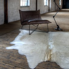 Cow Hide Rug Light